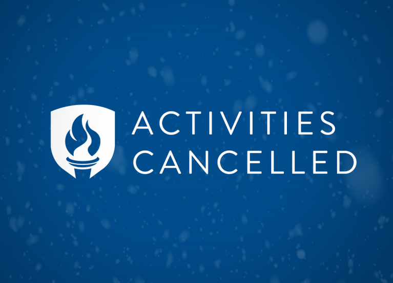 ACTIVITIES CANCELLED STORY